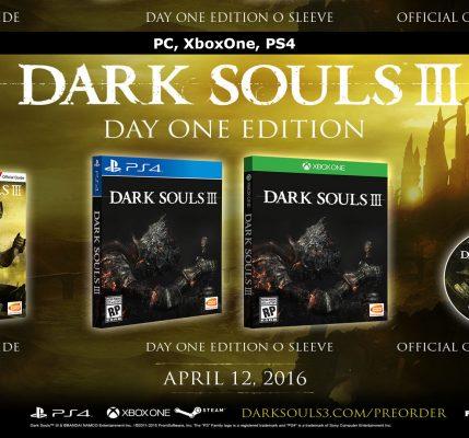Dark Souls 3 na Steamu a Vision of Season Pass