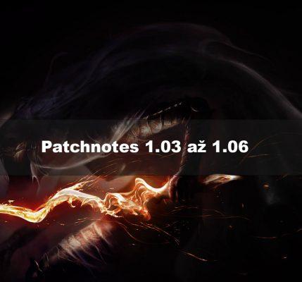 Patchnotes 1.03-1.06